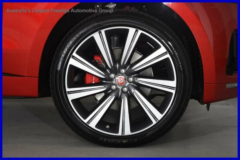 JAGUAR F-PACE 35t S AWD (280kW) X761 35t S Wagon 5dr Spts Auto 8sp AWD 3.0SC [MY19]
