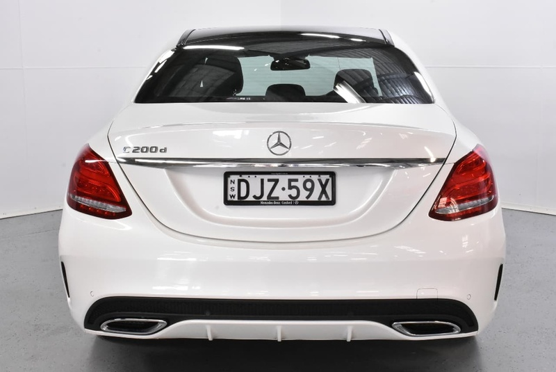MERCEDES-BENZ C200 d W205 d Sedan 4dr 7G-TRONIC + 7sp 1.6DT [Jan]