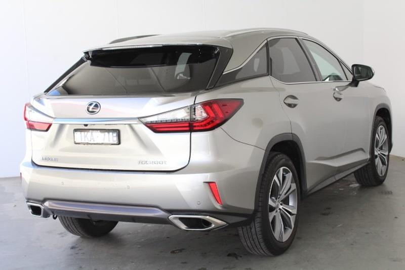 LEXUS RX200T Luxury AGL20R Luxury Wagon 5dr Spts Auto 6sp 2.0T