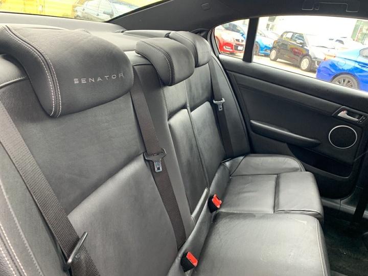 HOLDEN SPECIAL VEHICLES SENATOR  E Series Sedan 4dr Spts Auto 6sp 6.2i [MY09]
