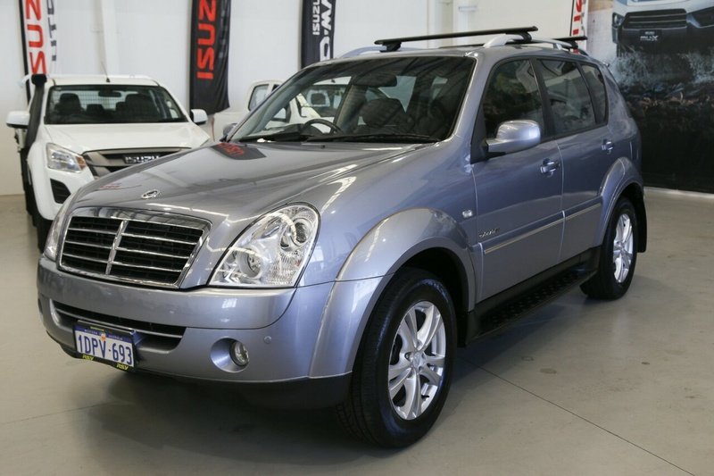 SSANGYONG REXTON RX270 XVT Y285 II RX270 XVT SPR Wagon 7st 5dr Spts Auto 5sp 4x4 2.7DT [MY10]