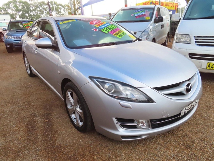 MAZDA 6 Luxury GH Series 1 Luxury Hatchback 5dr Spts Auto 5sp 2.5i [Feb]