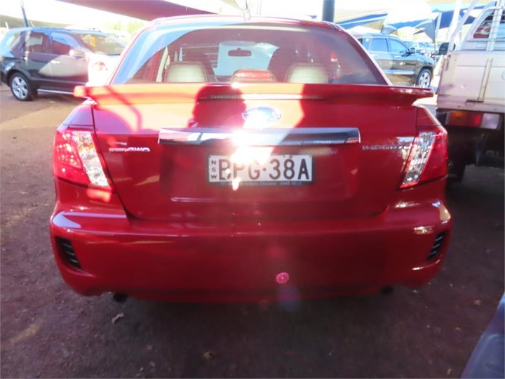 SUBARU IMPREZA RS G3 RS. Sedan 4dr Spts Auto 4sp AWD 2.0i [MY10]