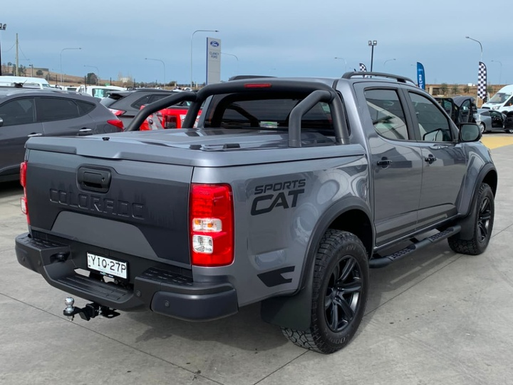HOLDEN SPECIAL VEHICLES COLORADO SportsCat RG SportsCat Pickup Crew Cab 4dr Spts Auto 6sp 4x4 2.8DT [MY18]