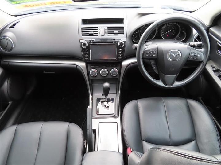 MAZDA 6 Touring GH Series 2 Touring Sedan 4dr Spts Auto 5sp 2.5i [MY12]