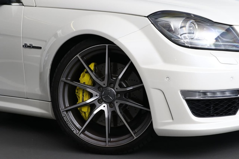 MERCEDES-BENZ C63 AMG W204 AMG Sedan 4dr SPEEDSHIFT MCT 7sp 6.3i [MY13]
