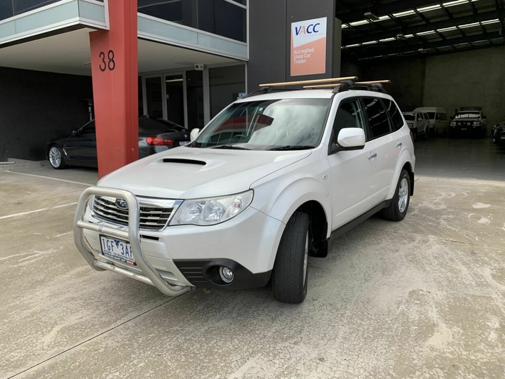 SUBARU FORESTER 2.0D S3 2.0D. Wagon 5dr Man 6sp AWD 2.0DT [MY10]