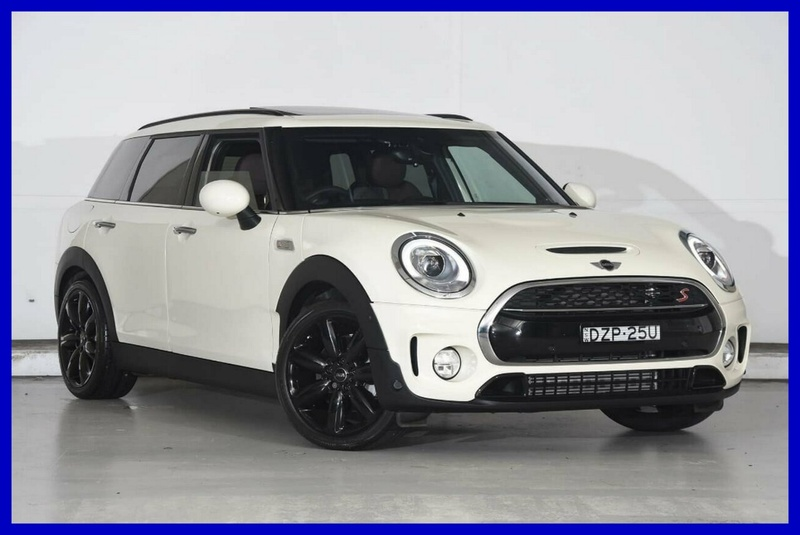 2017 Mini Clubman Cooper S Steptronic Sports Automatic