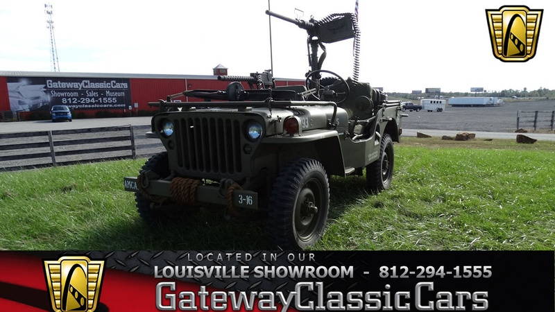 Willys Jeep For Sale >> 1947 Willys Jeep 4 Speed Manual
