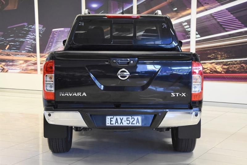 NISSAN NAVARA ST-X D23 Series 2 ST-X Utility Dual Cab 4dr Spts Auto 7sp 4x4 2.3DTT