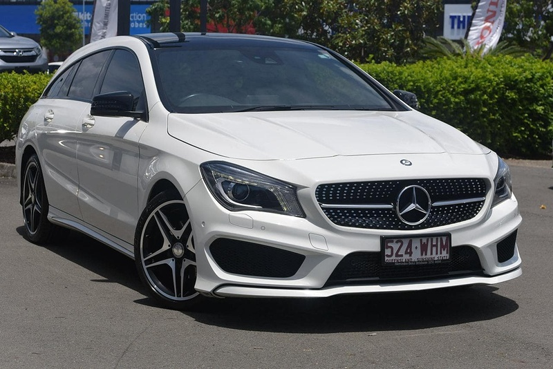 MERCEDES-BENZ CLA200  X117 Shooting Brake 5dr DCT 7sp 1.6T