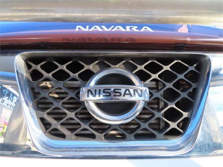 NISSAN NAVARA RX D40 Series 7 RX Utility Dual Cab 4dr Man 6sp 4x4 2.5DT