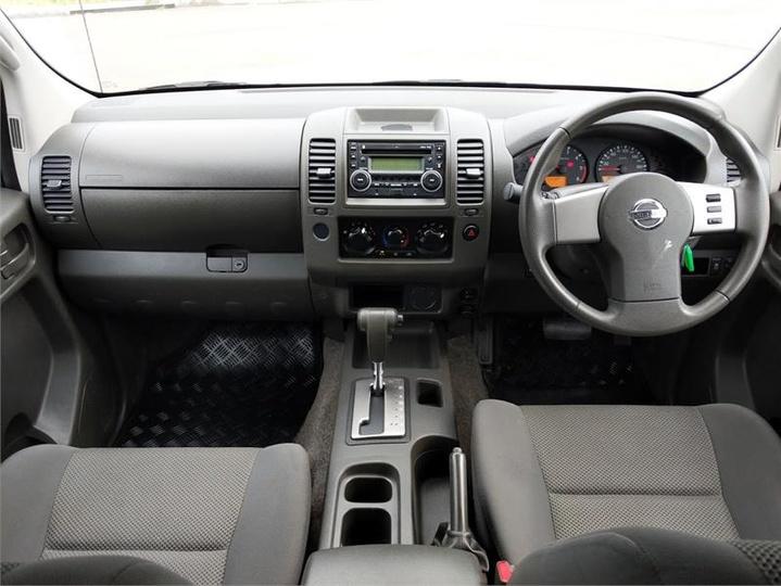 NISSAN NAVARA RX D40 Series 7 RX Cab Chassis Dual Cab 4dr Auto 5sp 4x4 2.5DT [Apr]