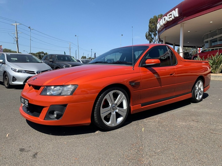 HOLDEN SPECIAL VEHICLES MALOO R8 Z Series 2 R8 Utility Extended Cab 2dr Auto 4sp 6.0i [Jul]