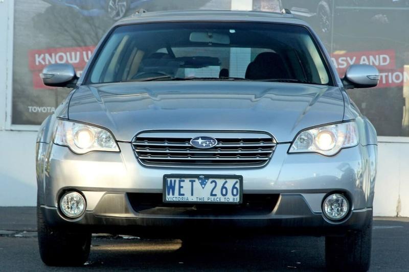 SUBARU OUTBACK  3GEN. Wagon 5dr Spts Auto 4sp AWD 2.5i [MY07]