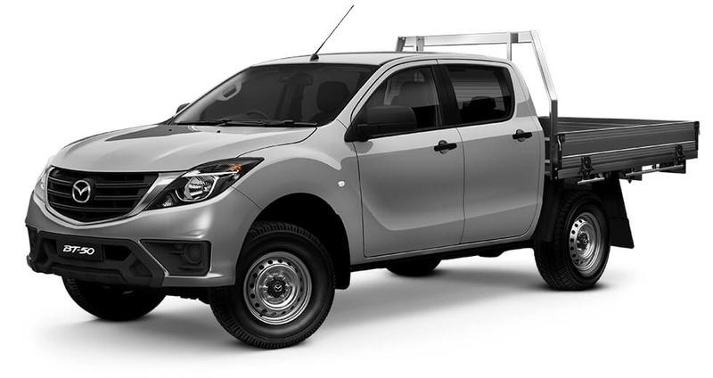 MAZDA BT-50 XT UR XT Hi-Rider Cab Chassis Dual Cab 4dr Spts Auto 6sp 4x2 3.2DT
