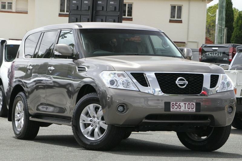 NISSAN PATROL Ti Y62 Ti Wagon 8st 5dr Spts Auto 7sp 4x4 5.6i [Dec]