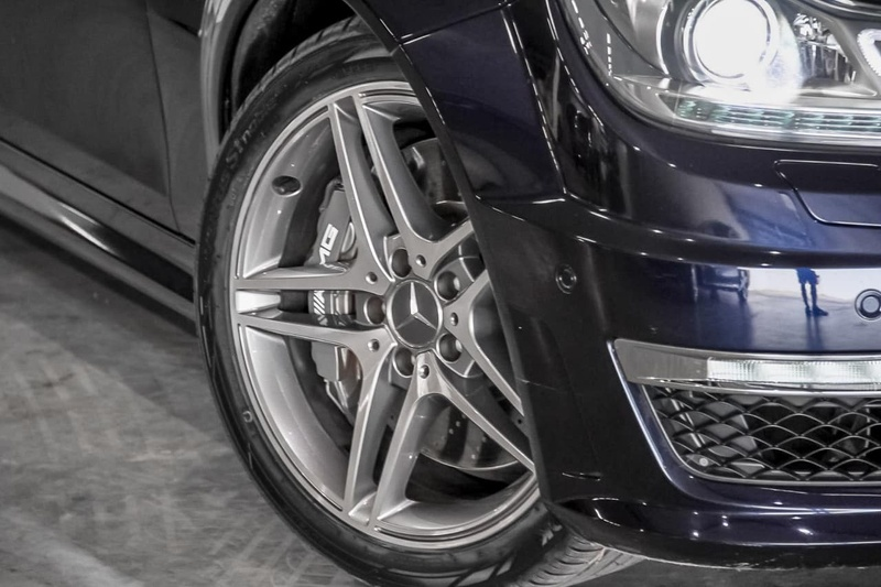MERCEDES-BENZ C63 AMG W204 AMG Sedan 4dr SPEEDSHIFT MCT 7sp 6.3i [MY12]