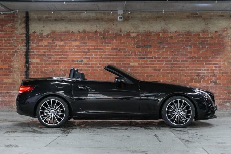 MERCEDES-BENZ SLC300  R172 Roadster 2dr 9G-TRONIC 9sp 2.0T