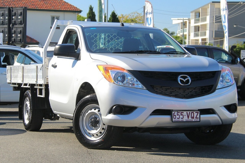 MAZDA BT-50 XT UP XT Cab Chassis Single Cab 2dr Man 6sp 4x2 2.2DT (3-st)
