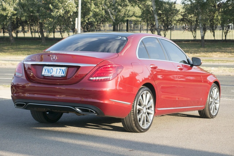 MERCEDES-BENZ C250  W205 Sedan 4dr 7G-TRONIC + 7sp 2.0T [May]