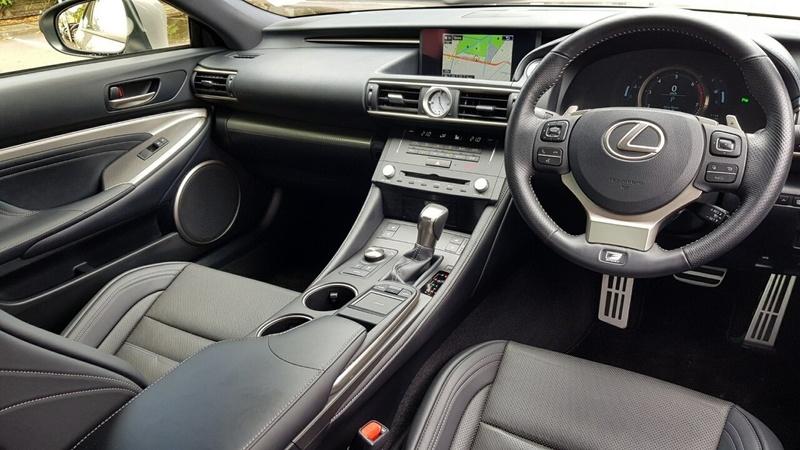 LEXUS RC RC200t ASC10R RC200t F Sport Coupe 2dr Spts Auto 8sp 2.0T
