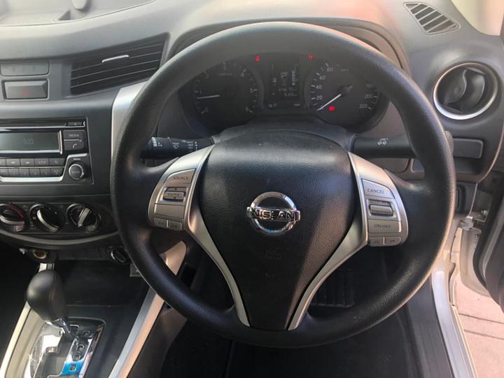 NISSAN NAVARA RX D23 RX Utility Dual Cab 4dr Spts Auto 7sp 4x4 2.3DT