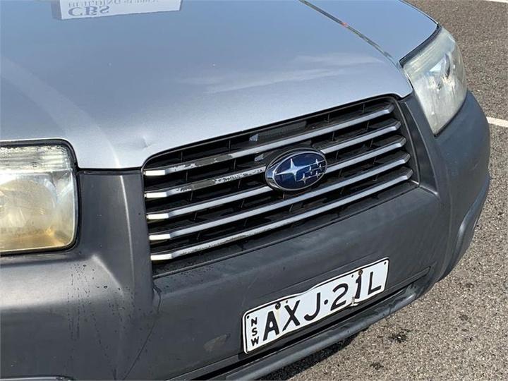 SUBARU FORESTER X 79V X. Wagon 5dr Man 5sp AWD 2.5i [MY06]
