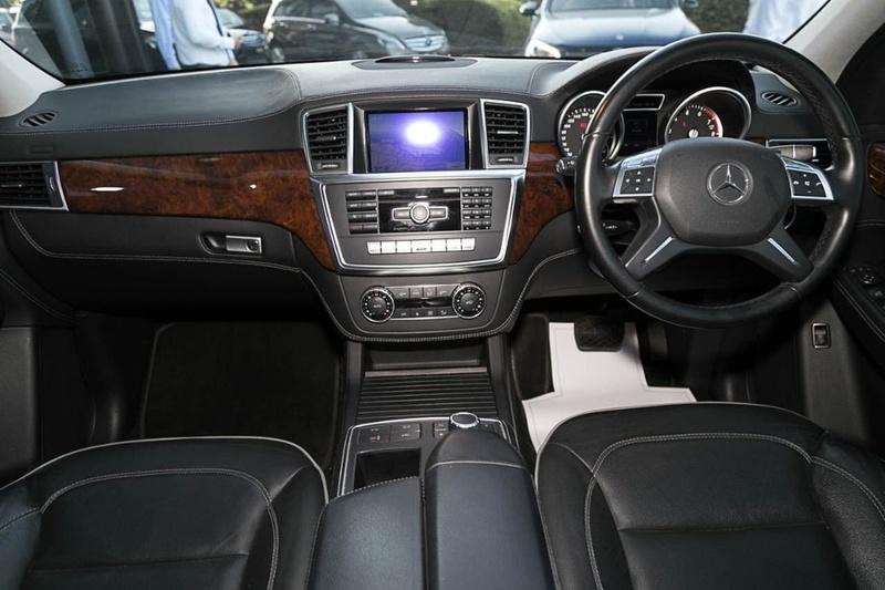 MERCEDES-BENZ ML500  W166 Wagon 5dr 7G-TRONIC + 7sp 4x4 4.7TT