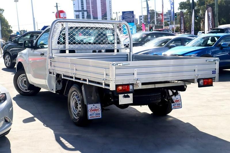 MAZDA BT-50 XT UR XT Cab Chassis Single Cab 2dr Man 6sp 4x2 2.2DT