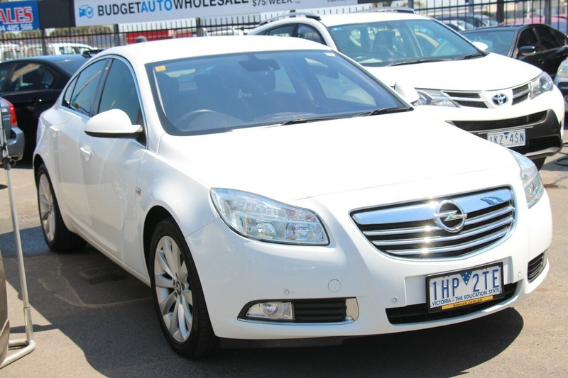 OPEL INSIGNIA Select IN Select Sedan 4dr Spts Auto 6sp 2.0T [Sep]