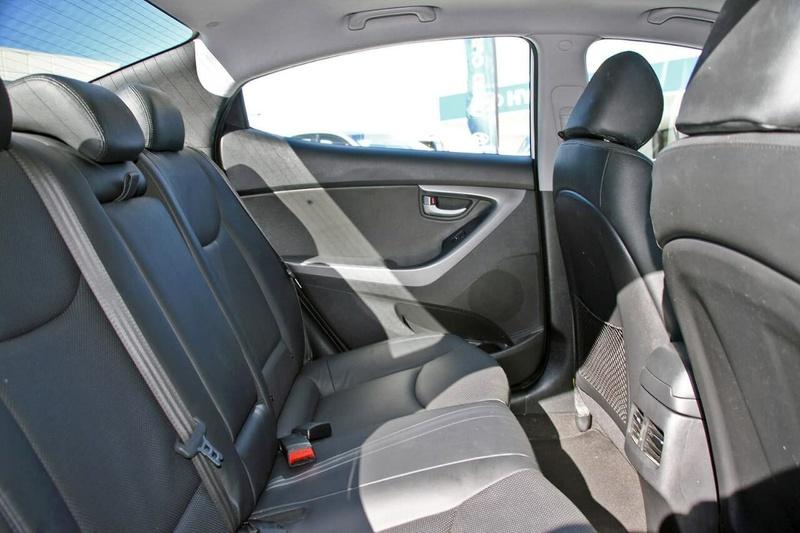HYUNDAI ELANTRA Premium MD3 Premium Sedan 4dr Spts Auto 6sp 1.8i
