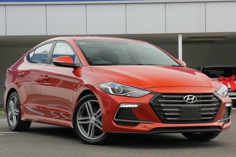 HYUNDAI ELANTRA SR AD SR Turbo Sedan 4dr DCT 7sp 1.6T [MY17]
