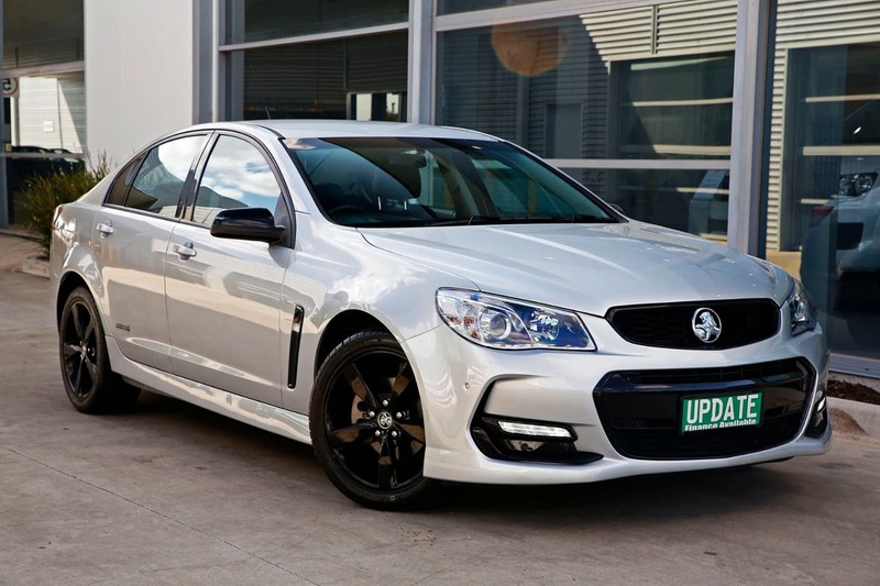 HOLDEN COMMODORE SV6 VF Series II SV6 Black Sedan 4dr Spts Auto 6sp 3.6i [MY16]
