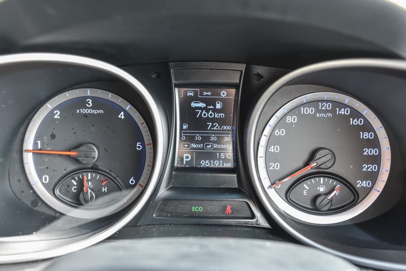 HYUNDAI SANTA FE Active DM Active Wagon 7st 5dr Spts Auto 6sp 4x4 2.2DT [MY13]