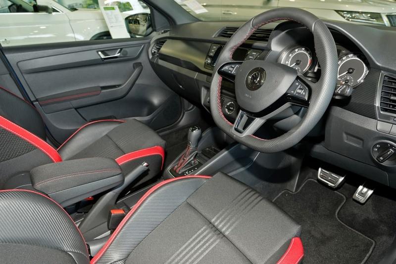 SKODA FABIA 81TSI NJ 81TSI Monte Carlo Hatchback 5dr DSG 7sp 1.0T [MY19]