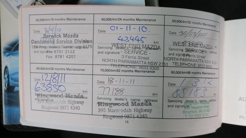 MAZDA 6 Classic GH Series 1 Classic Wagon 5dr Spts Auto 5sp 2.5i [Feb]