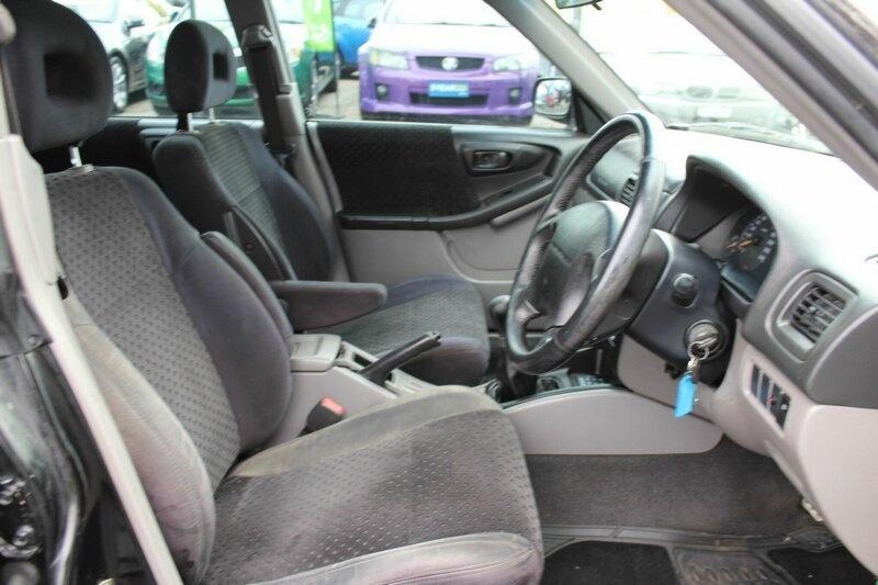 SUBARU FORESTER GT 79V GT. Wagon 5dr Man 5sp AWD 2.0T [MY99]