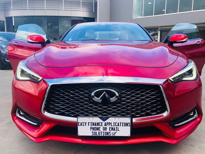 INFINITI Q60 Red Sport V37 Red Sport Coupe 2dr Spts Auto 7sp 3.0TT
