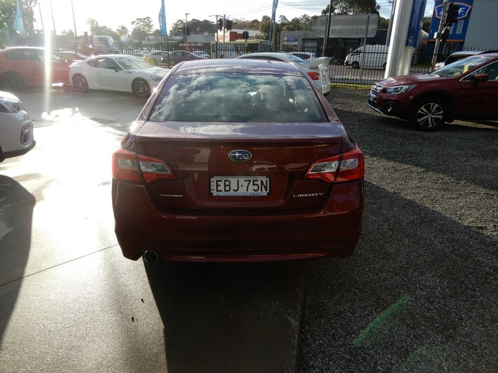 SUBARU LIBERTY 2.5i 6GEN 2.5i Premium. Sedan 4dr CVT 6sp AWD [MY15]