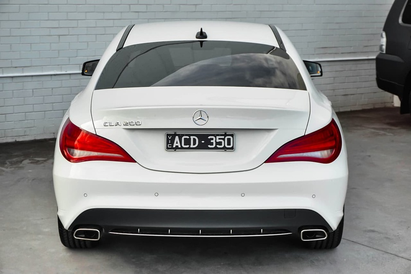 MERCEDES-BENZ CLA200  C117 Coupe 4dr DCT 7sp 1.6T (Jun)
