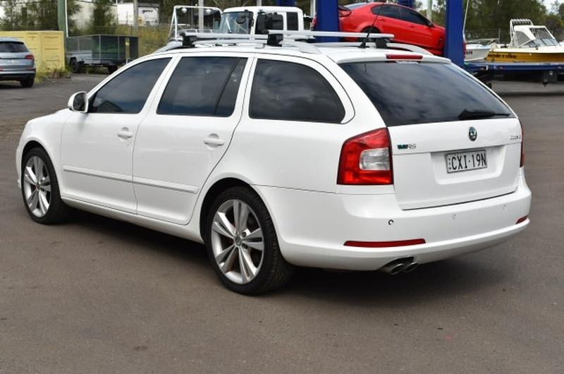 SKODA OCTAVIA RS 1Z RS Wagon 5dr DSG 6sp 2.0DT [MY09]