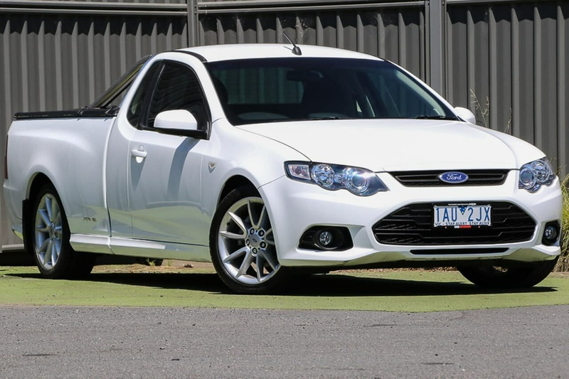 FORD FALCON XR6 FG MkII XR6 Ute Super Cab 2dr Spts Auto 6sp 4.0i [Oct]
