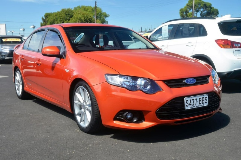 FORD FALCON XR6 FG MkII XR6 Sedan 4dr Man 6sp 4.0i