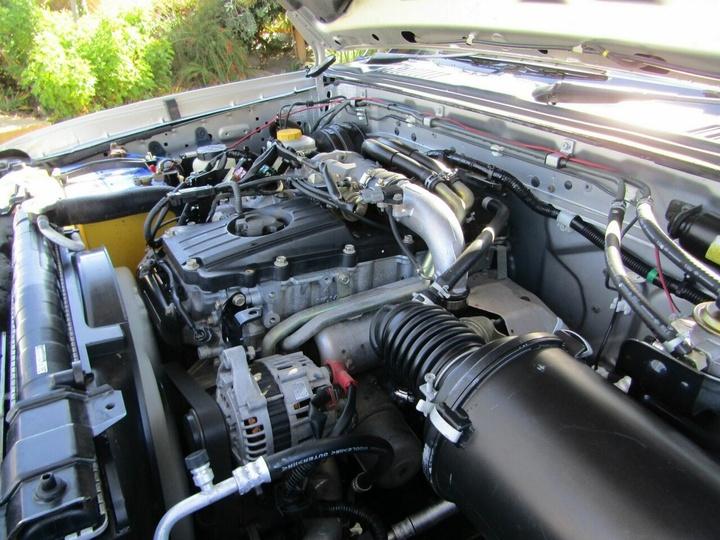 NISSAN NAVARA DX D22 DX Cab Chassis Single Cab 2dr Man 5sp 4x4 3.0DT [MY03]