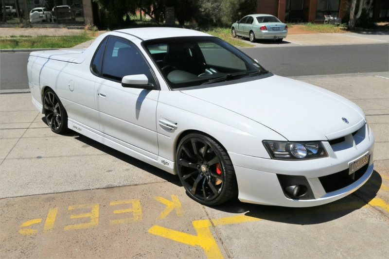 HOLDEN SPECIAL VEHICLES MALOO R8 Z Series R8 Utility Extended Cab 2dr Auto 4sp 6.0i