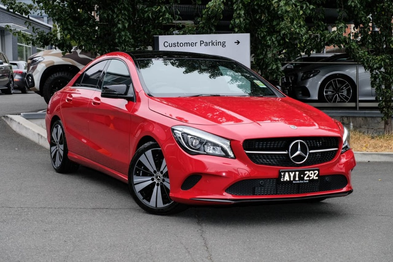 MERCEDES-BENZ CLA200  C117 Coupe 4dr DCT 7sp 1.6T