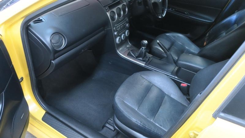 MAZDA 6 Luxury Sports GG Series 1 Luxury Sports Hatchback 5dr Man 5sp 2.3i [Aug]