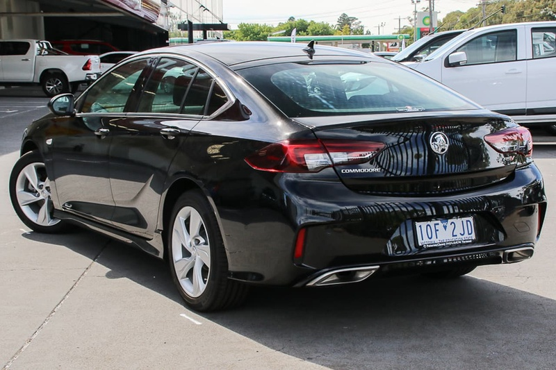 2018 Holden Commodore Rs V Sports Automatic Zb Rs V