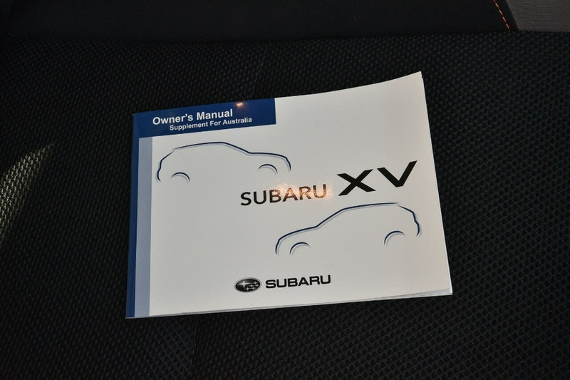 SUBARU XV 2.0i G4X 2.0i. Wagon 5dr Lineartronic 6sp AWD [MY17]